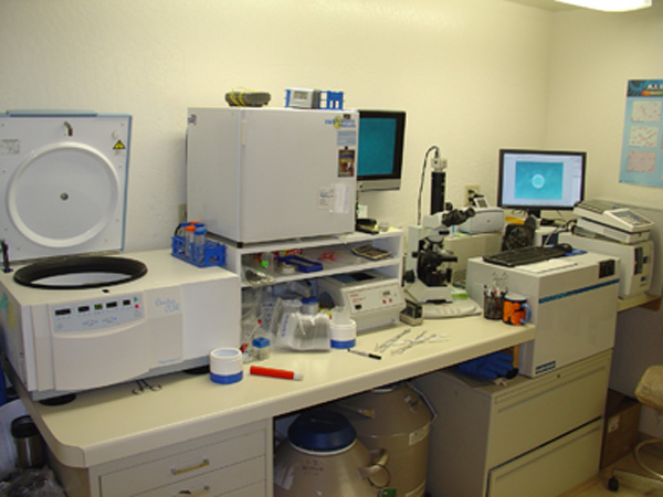 Santolina Farm Inc., - Lab Equipment